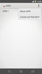Sony Xperia Z1 - Internet - Manuelle Konfiguration - Schritt 10