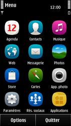 Nokia 500 - Internet - configuration manuelle - Étape 3