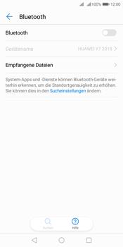 Huawei Y7 (2018) - Bluetooth - Verbinden von Geräten - Schritt 5