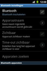 Samsung S7500 Galaxy Ace Plus - bluetooth - aanzetten - stap 6