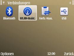 Nokia E72 - WLAN - Manuelle Konfiguration - Schritt 5