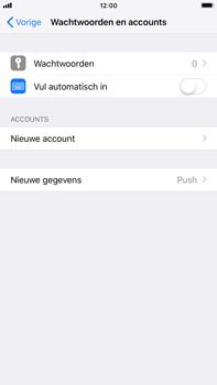 Apple iPhone 8 Plus - iOS 12 - E-mail - Account instellen (POP3 zonder SMTP-verificatie) - Stap 4
