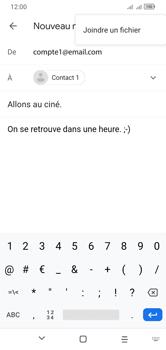 Alcatel 1S (2020) - E-mails - Envoyer un e-mail - Étape 10