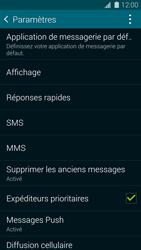 Samsung G900F Galaxy S5 - SMS - Configuration manuelle - Étape 6