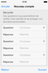 Apple iPhone 4 S iOS 7 - Applications - Créer un compte - Étape 13