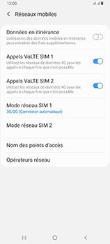 Samsung Galaxy A80 - Réseau - Comment activer une connexion au réseau 4G - Étape 6