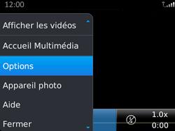 BlackBerry 9720 - Photos, vidéos, musique - Créer une vidéo - Étape 7