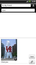 HTC X515m EVO 3D - MMS - Sending pictures - Step 11