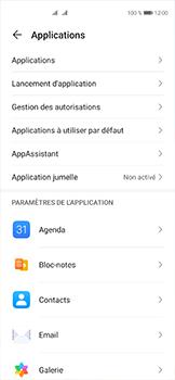 Huawei P40 - Applications - Supprimer une application - Étape 4