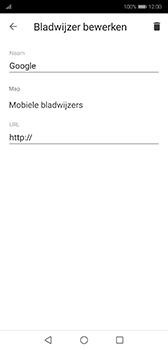 Huawei P20 - Android Pie - internet - hoe te internetten - stap 9