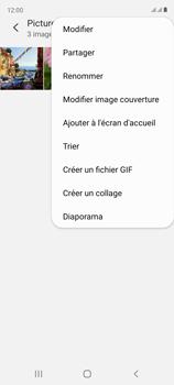 Samsung Galaxy S20 FE - Photos, vidéos, musique - Envoyer une photo via Bluetooth - Étape 8