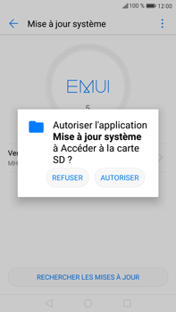 Huawei Mate 9 - Logiciels - Installation de mises à jour - Étape 4