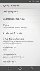 Sony Xperia Z3 - software - update installeren zonder pc - stap 5