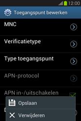 Samsung S6810P Galaxy Fame - MMS - handmatig instellen - Stap 16