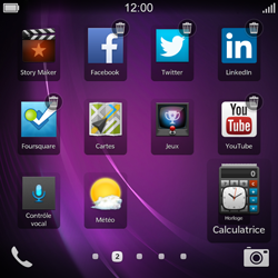 BlackBerry Q10 - Applications - Personnaliser l