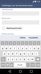 LG K10 4G - E-mail - Account instellen (POP3 zonder SMTP-verificatie) - Stap 11