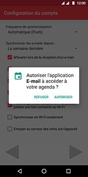 Motorola Moto G6 - E-mails - Ajouter ou modifier votre compte Outlook - Étape 11