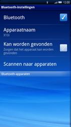 Sony Ericsson Xperia X10 - Bluetooth - headset, carkit verbinding - Stap 6