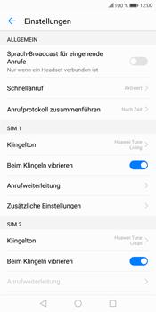 Huawei Mate 10 Lite - Anrufe - Rufumleitungen setzen und löschen - 5 / 9
