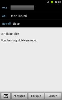Samsung Galaxy Note - E-Mail - E-Mail versenden - 8 / 15