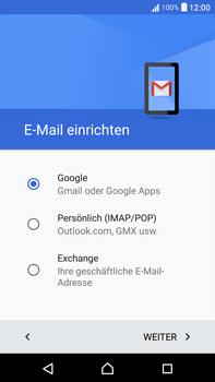 Sony F3211 Xperia XA Ultra - E-Mail - Konto einrichten (gmail) - Schritt 9