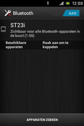 Sony ST23i Xperia Miro - bluetooth - aanzetten - stap 9