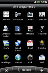 HTC A6363 Legend - internet - hoe te internetten - stap 2