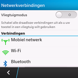 BlackBerry Q10 - Internet - handmatig instellen - Stap 5