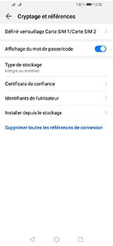 Huawei Y6 (2019) - Sécuriser votre mobile - Personnaliser le code PIN de votre carte SIM - Étape 6