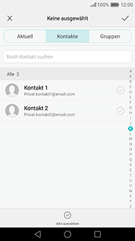 Huawei P9 Plus - E-Mail - E-Mail versenden - 2 / 2