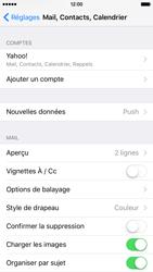 Apple iPhone 6 iOS 9 - E-mail - Configurer l
