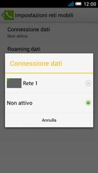 Alcatel One Touch Idol Mini - Internet e roaming dati - come verificare se la connessione dati è abilitata - Fase 7