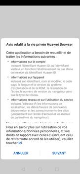 Huawei P30 - Internet et roaming de données - Navigation sur Internet - Étape 4