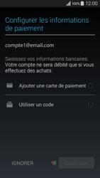 Samsung A300FU Galaxy A3 - Applications - Créer un compte - Étape 20