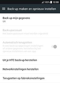 HTC U11 - Resetten - Fabrieksinstellingen terugzetten - Stap 5