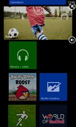 Nokia Lumia 925 - Operazioni iniziali - Personalizzazione della schermata iniziale - Fase 9