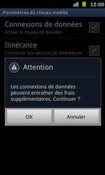 Samsung Galaxy S Advance - Internet et roaming de données - Configuration manuelle - Étape 7