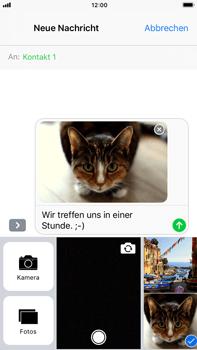Apple iPhone 8 Plus - MMS - Erstellen und senden - 1 / 1