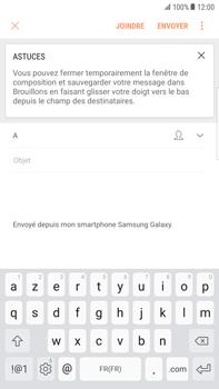 Samsung Galaxy S6 Edge+ - Android Nougat - E-mail - envoyer un e-mail - Étape 5