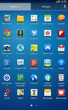 Samsung Galaxy Tab 3 8-0 LTE - Internet e roaming dati - Come verificare se la connessione dati è abilitata - Fase 3