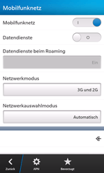 BlackBerry Z10 - Internet - Manuelle Konfiguration - Schritt 6