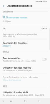 Samsung Galaxy S9 Plus - Internet - Désactiver les données mobiles - Étape 7