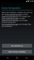 Sony Xperia Z1 Compact - Apps - Konto anlegen und einrichten - 2 / 2