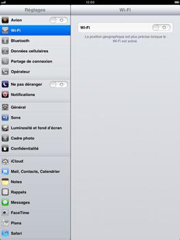 Apple iPad mini - Wifi - configuration manuelle - Étape 2