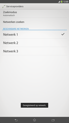 Sony C6833 Xperia Z Ultra LTE - Netwerk - Handmatig netwerk selecteren - Stap 13