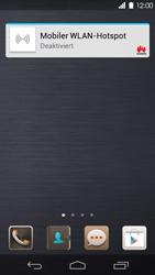 Huawei Ascend P6 - Startanleitung - Installieren von Widgets und Apps auf der Startseite - Schritt 3