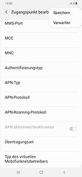 Samsung Galaxy A50 - MMS - Manuelle Konfiguration - Schritt 15