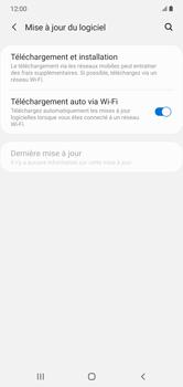 Samsung Galaxy Note 10+ - Aller plus loin - Mettre à jour le logiciel interne de votre mobile - Étape 6
