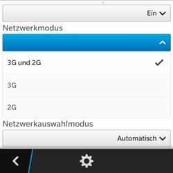 BlackBerry Q5 - Netzwerk - Netzwerkeinstellungen ändern - 7 / 8