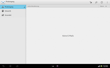 Sony Xperia Tablet Z LTE - E-Mail - E-Mail versenden - 4 / 15